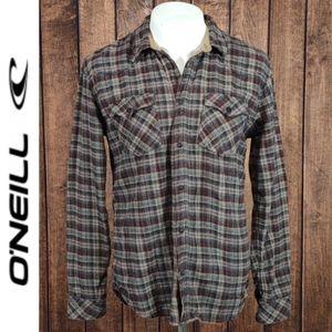Plaid Cotton Flannel Men's Excellent Condition